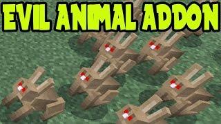 MCPE 0.16.0 ANIMAL ADDON and BEHAVIOR PACK // MCPE ANIMAL ADDON PACK - Minecraft PE (Pocket Edition)