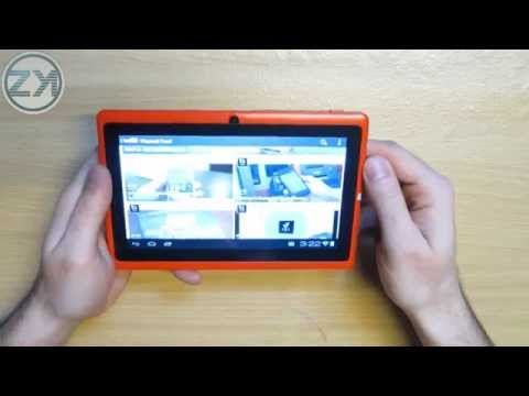 Allwinner A13 7inch Tablet PC Android 4.0 Review