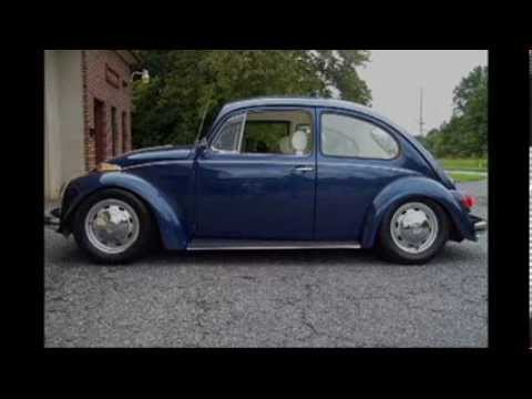 beetle - How to lower a VW Beetle. One of many ways. Also using air shocks.