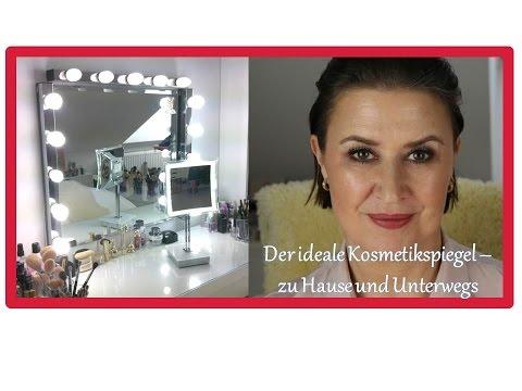 Der ideale Kosmetikspiegel - die ideale Beleuchtung - Tipps für zu Hause und Unterwegs