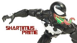 Marvel Legends Venom Spider-Man 2016 Absorbing Man BAF Wave Toy Action Figure Review