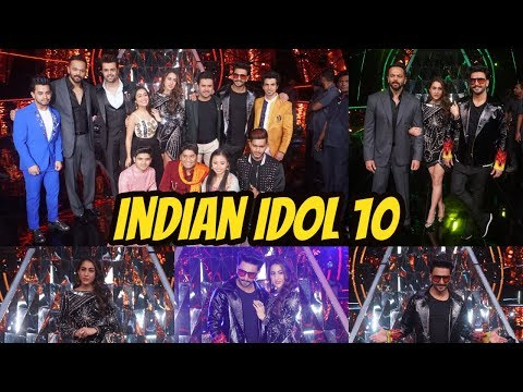Ranveer Singh & Sara Ali Khan At Promote Film SIMMBA On Set Of Indian Idol 10