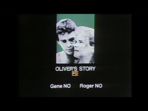 Oliver's Story (1978) movie review - Sneak Previews with Roger Ebert and Gene Siskel