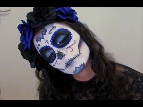 Halloween : Tuto Maquillage Sugar Skull