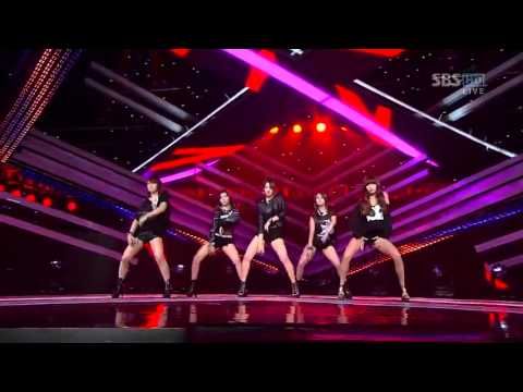 4Minute & MBLAQ – Dance Performance – Inkigayo 110904