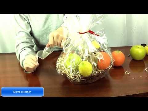 How To Make A Fruit Basket../