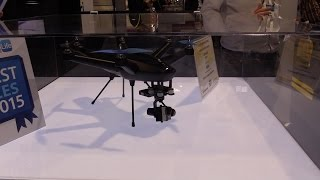 CES 2015 First Look: Hexo+ Drone - Autonomous flying camera for GoPro and other action cameras