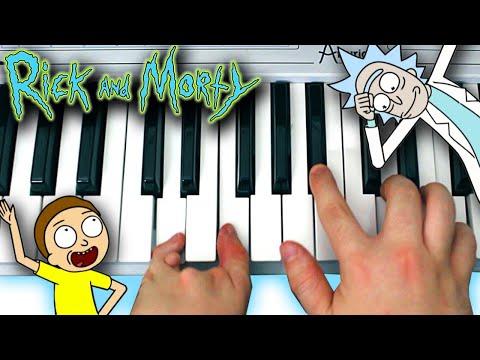 My Interpretation of the Rick and Morty (Season 4) Theme Song