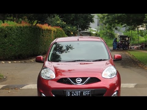 Review And Test Drive Nissan March 1.2 XS A/T 2016 (видео)