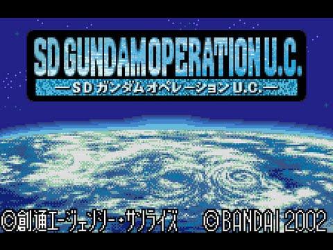 WonderSwan Color Longplay [007] SD Gundam - Operation U.C