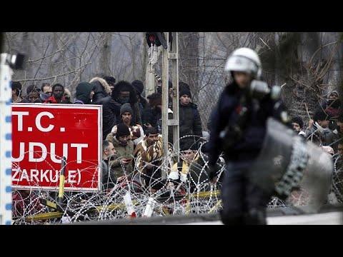 Griechenland: Krise an der griechisch-türkischen Grenze