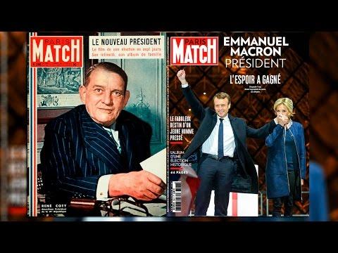 De René Coty à Emmanuel Macron, les présidents dans Match