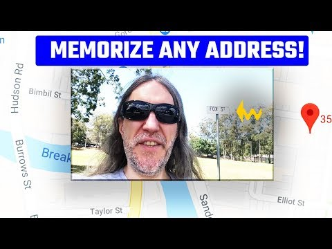 Easy Guide To Memorize Any Address - And Make A Memory Palace From The Destination!