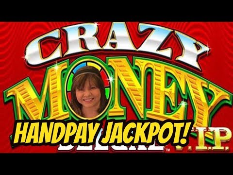 JACKPOT HANDPAY WIN! CRAZY MONEY VIP SLOT MACHINE