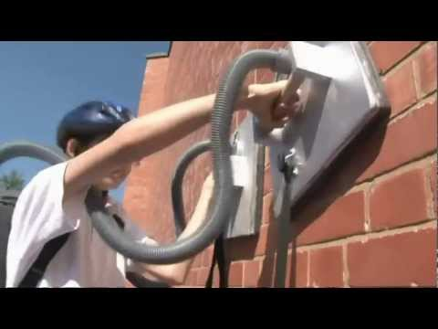 0 13 Year Old Builds Vacuum Powered Spider Man to Climbs Walls