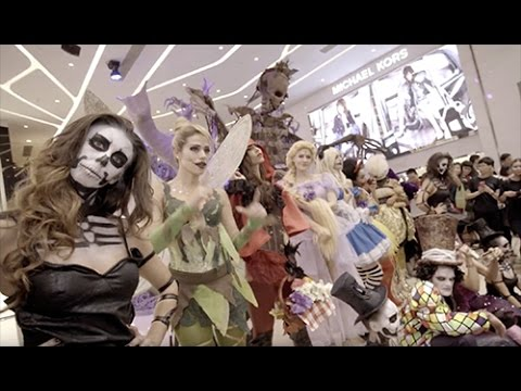 Shopping Mall Halloween Party