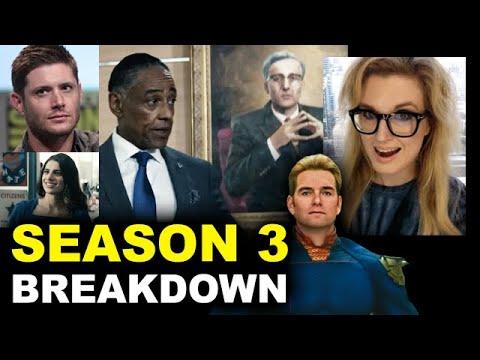 The Boys Season 3 - Jensen Ackles, Victoria Neuman