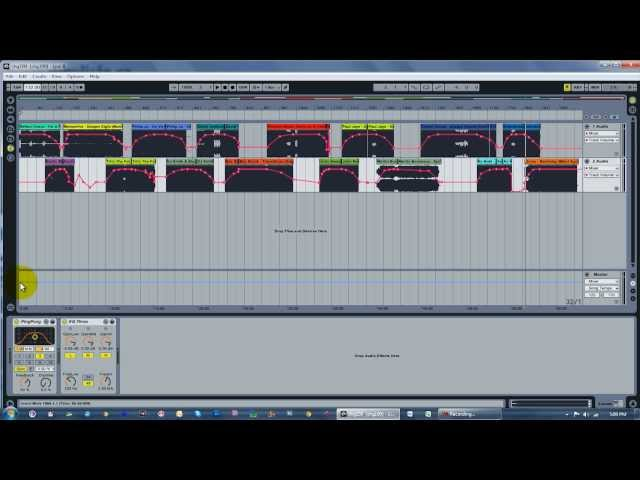 Making a DJ Mix Using Ableton Live