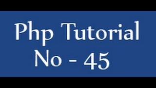 Php Tutorials For Beginners - 45 - Insert Query In Php Mysql