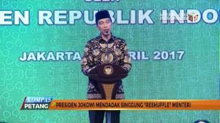 Presiden Joko Widodo mendadak membicarakan