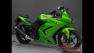 10. 2012  KAWASAKI  EX250 NINJA 250  - National Powersports Distributors