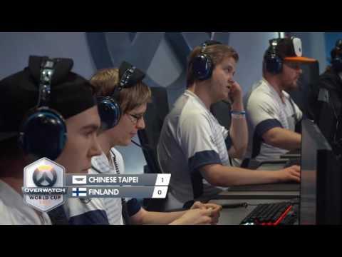 2016 鬥陣特攻世界賽 小組賽 中華台北 vs 芬蘭 Game2 愛西瓦德