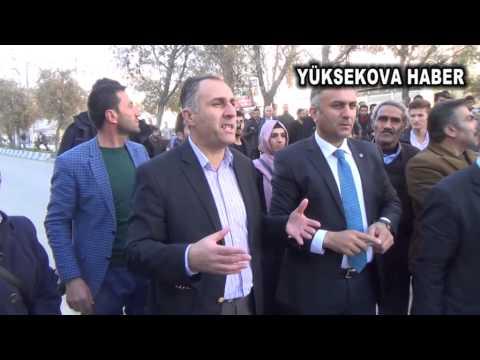 Yüksekova'da 'polis küfürü'ne öfke dinmiyor