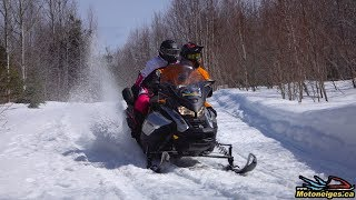 8. 2019 Ski-Doo Grand-Touring Limited 900 ACE Turbo