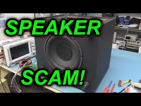 Scam - Dave exposes the global White Van Speaker Scam and tears down a Marc Vincent Surround Sound Receiver, one of the items sold in Australia through this scam. H...