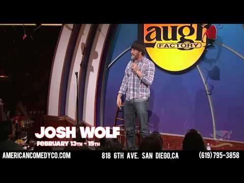 Josh Wolf American Comedy Co February 13th-15th