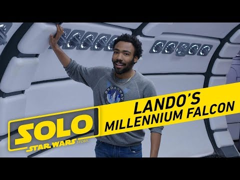 Han Solo: Una Historia de Star Wars - Tour The Millennium Falcon with Donald Glover?>