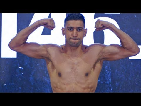 Terence Crawford Vs. Amir Khan ** WEIGH IN & FINAL FACE OFF**  Top Rank Boxing