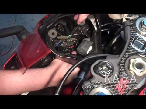 HID Installion on a 2009 Suzuki GSXR 600