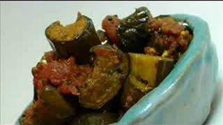 Eggplant in Exotic Indian Spices - Aachari Baingan Recipe