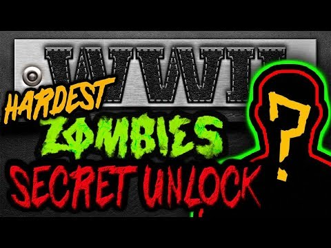 HARDEST Secret Character UNLOCKED (What it looks like & How to get it) WW2 Zombies \