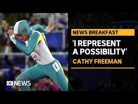 Cathy Freeman relives her 2000 Sydney Olympics win | ABC News