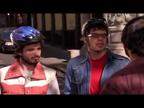 Aziz gets xenophopic on Flight of the Conchords
