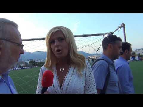 """Ξεχωριστό τουρνουά ποδοσφαίρου από τον Όμιλο UNESCO Β. Π. 3-6-2018 - ΜΑΡΙΝΑ ΠΑΤΟΥΛΗ ΔΗΛΩΣΗ ΣΤΗ """"Θ"""""""