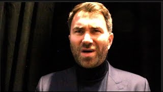Video 'ARE WE RUNNING OR BEGGING?' - EDDIE HEARN TO DEONTAY WILDER, & ON CANELO-ROCKY, JOSHUA, KHAN-BROOK MP3, 3GP, MP4, WEBM, AVI, FLV Desember 2018