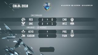 CBLoL 2018 - Primeira Etapa - Semana 2, Dia 1