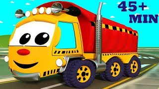 Video The Wheels on the Truck Go Round and Round | Wheels on the Bus | Plus Many Other Top Nursery Rhymes MP3, 3GP, MP4, WEBM, AVI, FLV Agustus 2018