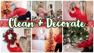 *NEW* CHRISTMAS 2019 CLEAN AND DECORATE WITH ME // CHRISTMAS HOME TOUR