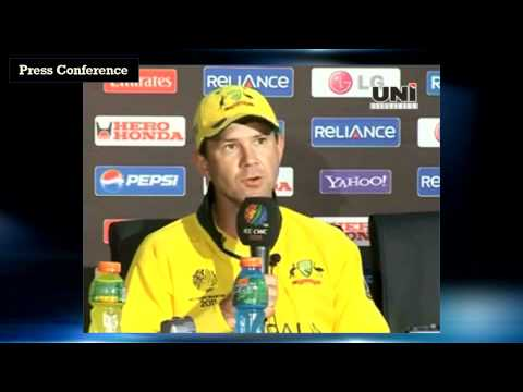 Ricky Ponting: It was basically just rolled mud