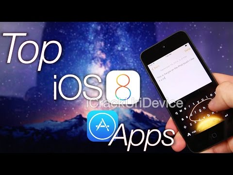 ID - WATCH FIRST For More iOS 8 Updates, Follow Me On Twitter: http://twitter.com/#!/iCrackUriDevice Best TOP 8 iOS 8.0 Apps for the iPhone 6 Plus with Custom iOS 8 Keyboards, Notification Center...