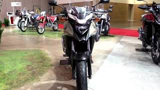 6. 2018 Honda CB500X SE Exclusive Features Edition First Impression Walkaround HD