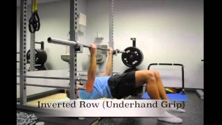 Exercise Index: Inverted Row (Underhand Grip)