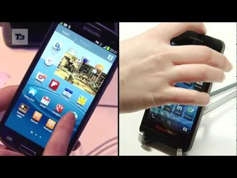 BlackBerry Z10 vs Samsung Galaxy S3. BlackBerry 10 loaded BB Z10 goes head-to-head against the Android Galaxy S3