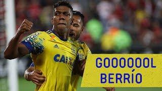 Berrío marcou o primeiro gol na vitória do Mais Querido sobre o Coritiba por 2x1 na Ilha do Urubu---------------Seja sócio-torcedor do Flamengo: http://bit.ly/1QtIgYl---------------Inscreva-se no canal oficial do Flamengo. Vídeos todos os dias.--- Subscribe at Flamengo channel, a 40-million-fans nation. Join us!
