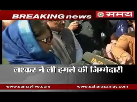 Mehbooba Mufti on terrorist attacks in Jammu-Kashmir