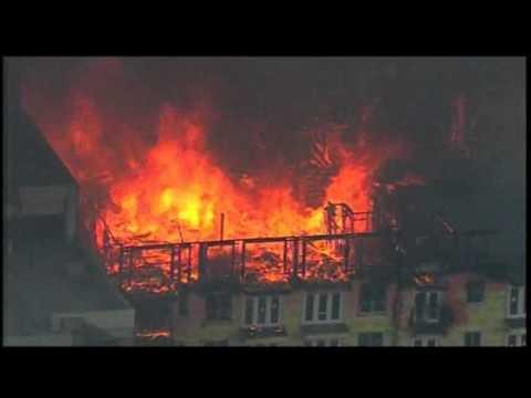 Firefighters Battle Houston Apartment Fire
